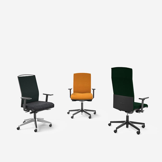 Eol fauteuil de travail attitud mobilier bureau montpellier