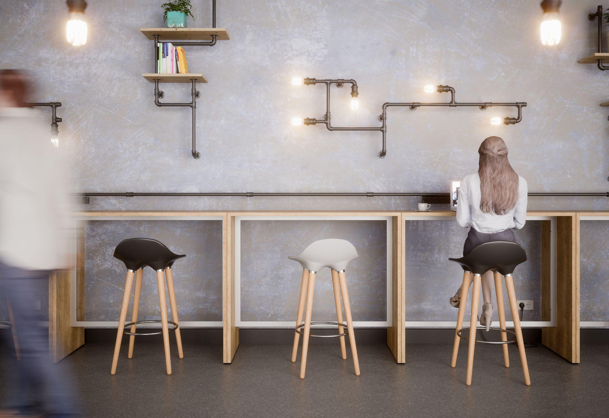 Buronomic mobilier bureau table haute détente