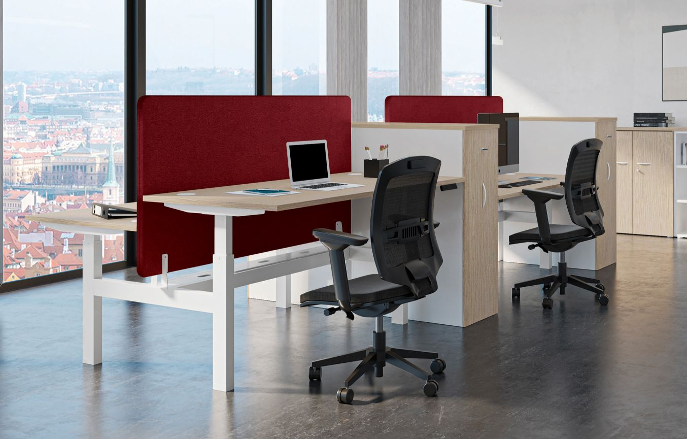 Buronomic mobilier bureau modele electrique envol evo