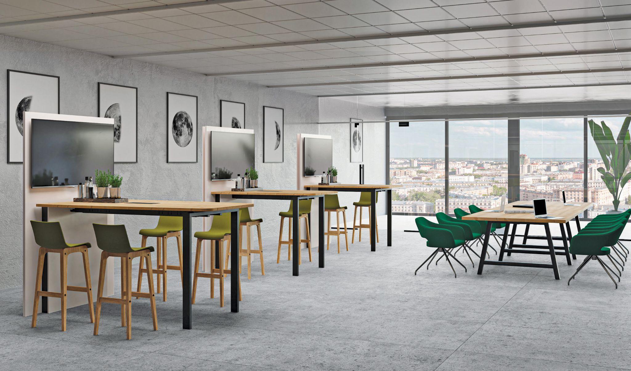 Buronomic mobilier bureau tables vio hub