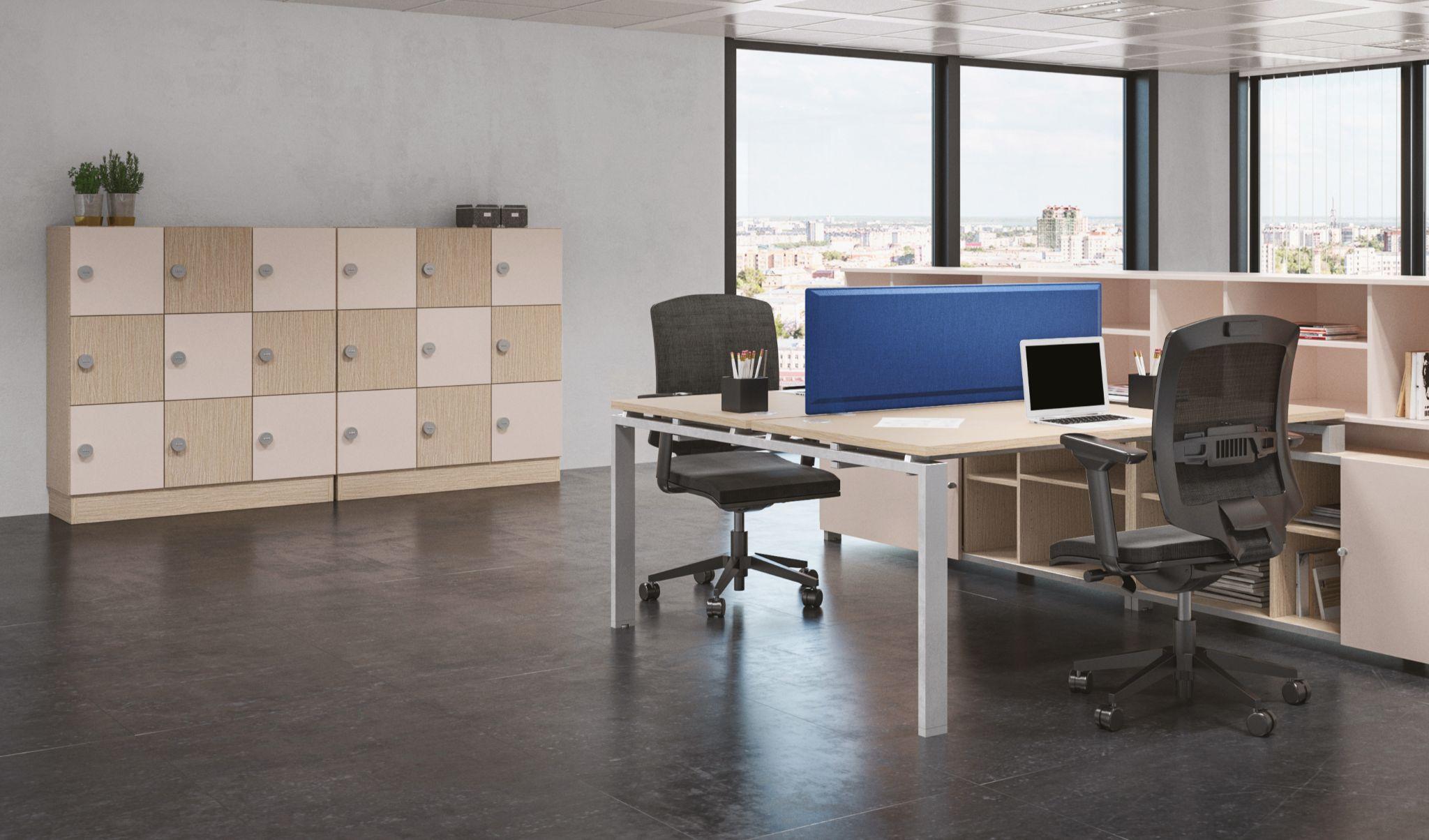 Casiers rangement bureaux mobilier buronomic eko