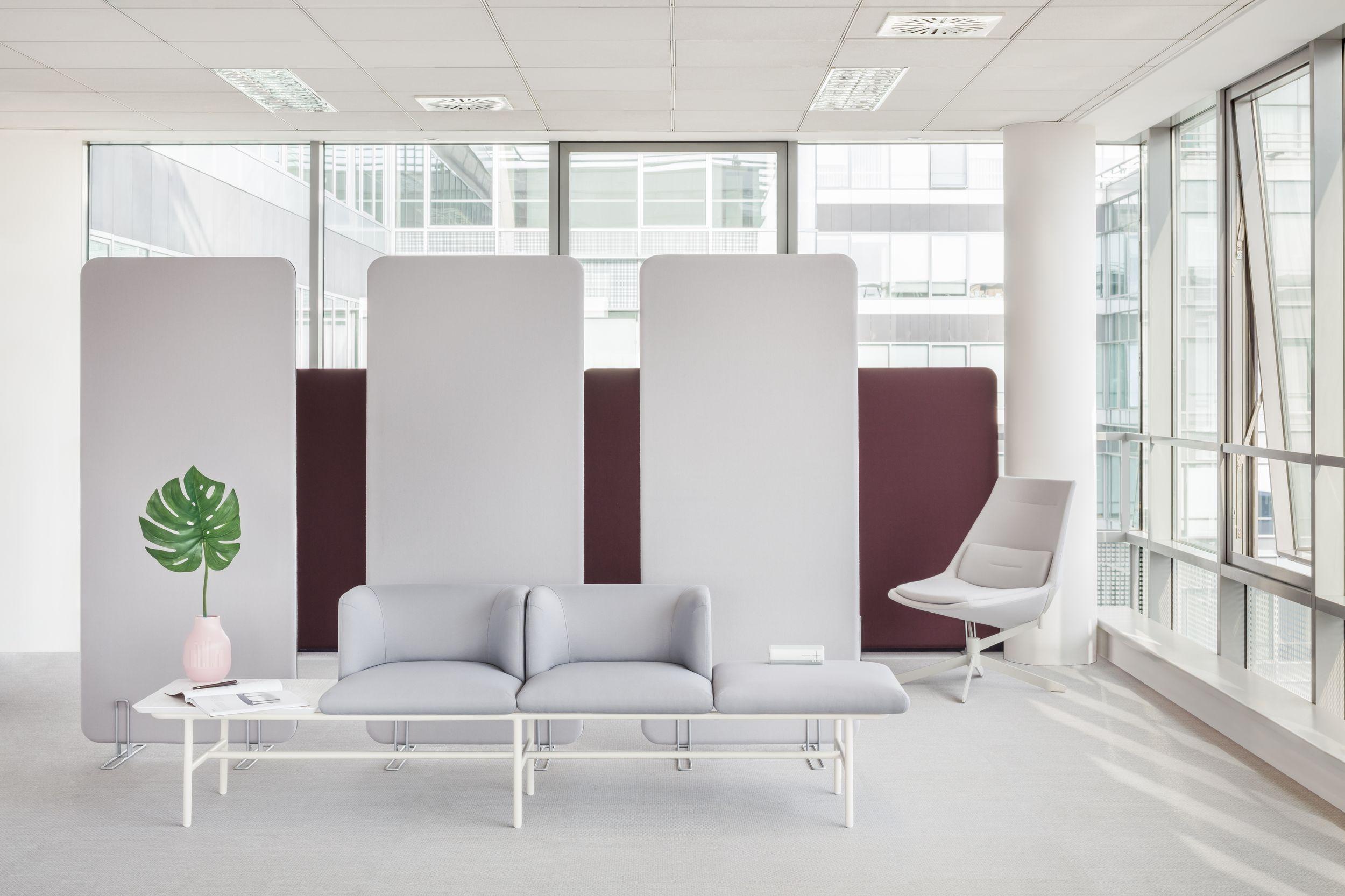 Cloisons de séparation MDD acoustique mobilier de bureaux design