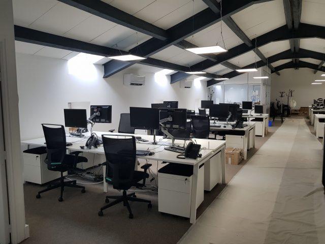 open space bureau entreprise