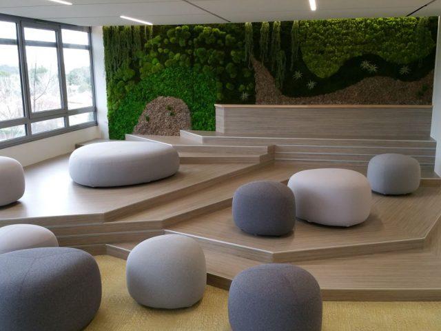 salle d'attente bureau entreprise
